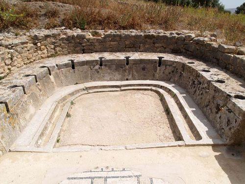 Los Baños Romano La Hedionda:Cacona para todos Los baños y sus costumbres en la antigua Roma